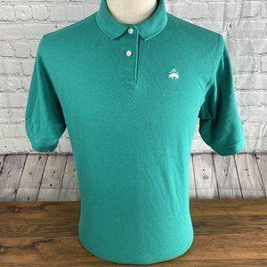Brooks Brothers Polo Shirt Green Shirt Size L